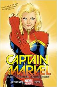 Captain Marvel by Kelly Sue DeConnick