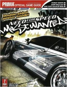 Need For Speed Most Wanted Game Guide by Brad Anthony