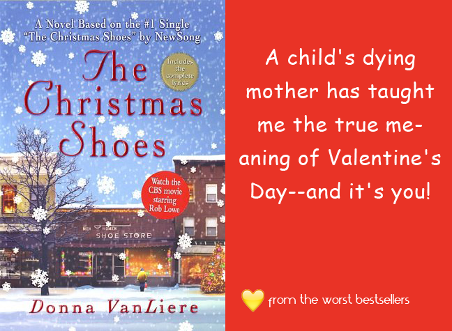 Christmas Shoes Valentine