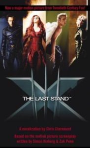 X-Men 3: The Last Stand by Chris Claremont