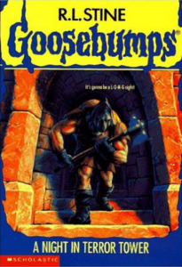 Goosebumps: A Night in Terror Tower by RL Stine
