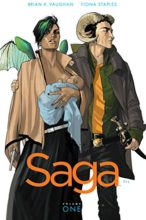 Saga by Brian K. Vaughn & Fiona Staples