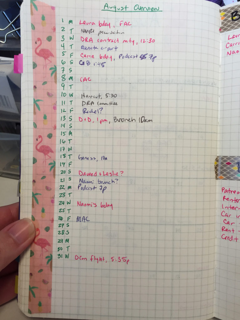 kait's august overview