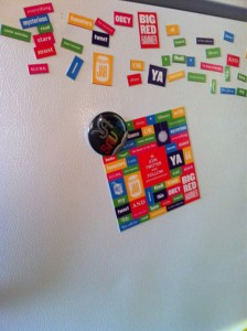 Maureen Johnson Twitter magnets