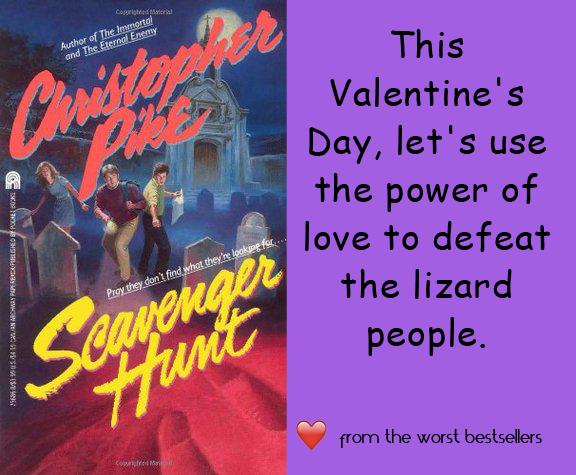Scavenger Hunt Valentine