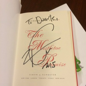 Signed Copy of The Mistletoe Promise