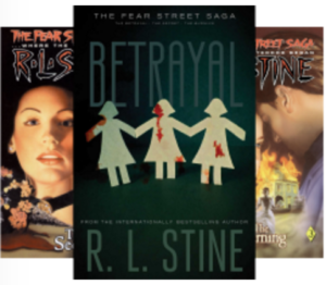 Fear Street Saga Trilogy by RL Stine