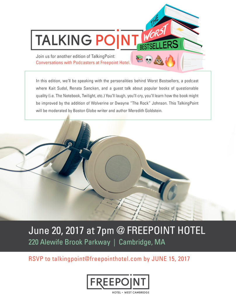 Talking Point at the Freepoint Hotel